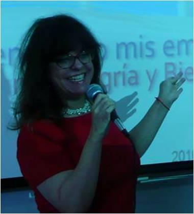 Mónica Flores R. Promotora de Bienestar